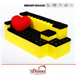 SILLÓN DOS PLAZAS LEGO
